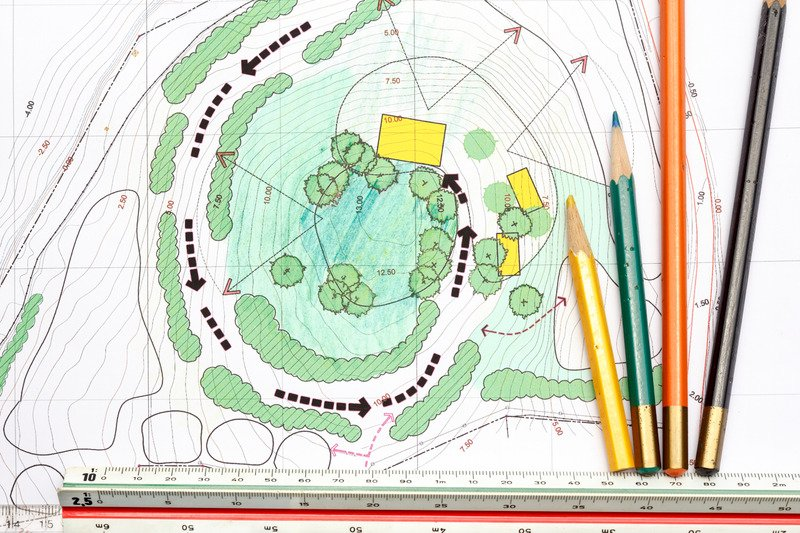 Landscape consulting plan and layout - Mornington, Vic