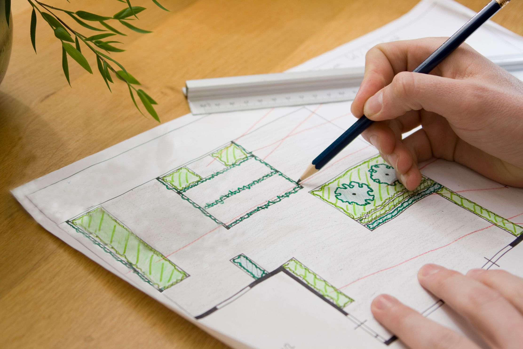 Designing a landscaping project on the Mornington Peninsula Victoria