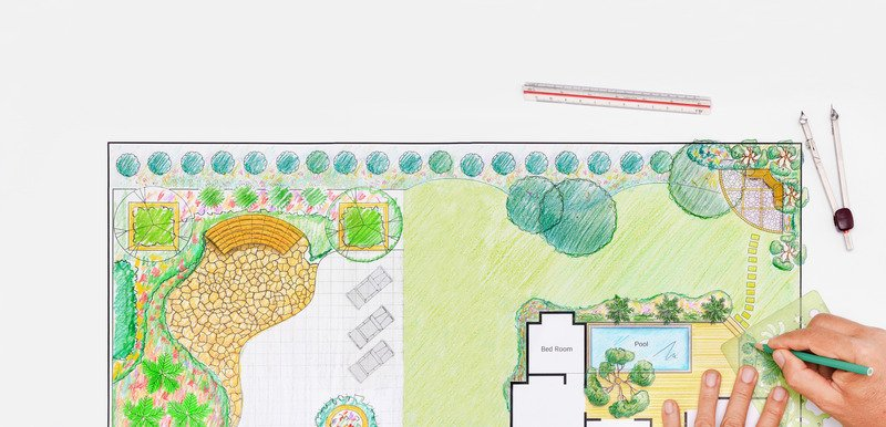 Design plan for landscaping job - Mornington Peninsula