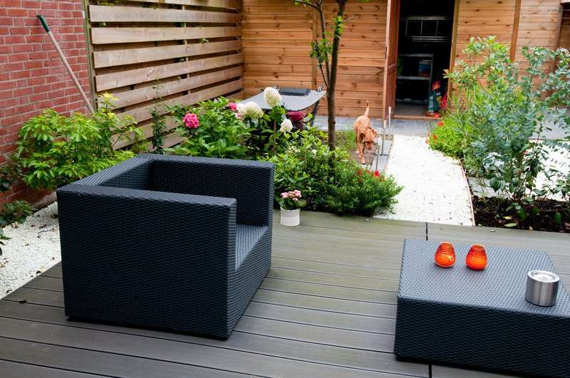 Outdoor deck and garden design 2 - Mornington Peninsula Vic