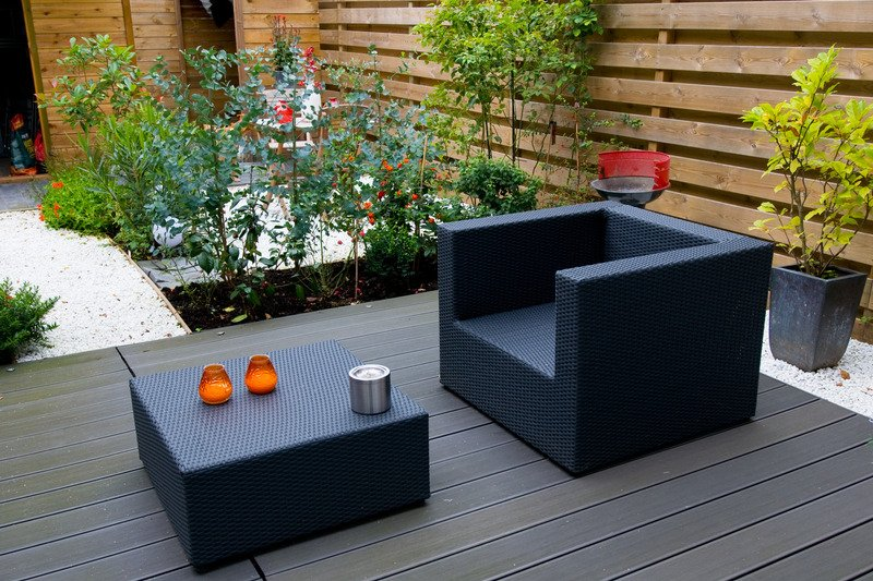 Outdoor deck and garden design - Mornington Peninsula Vic
