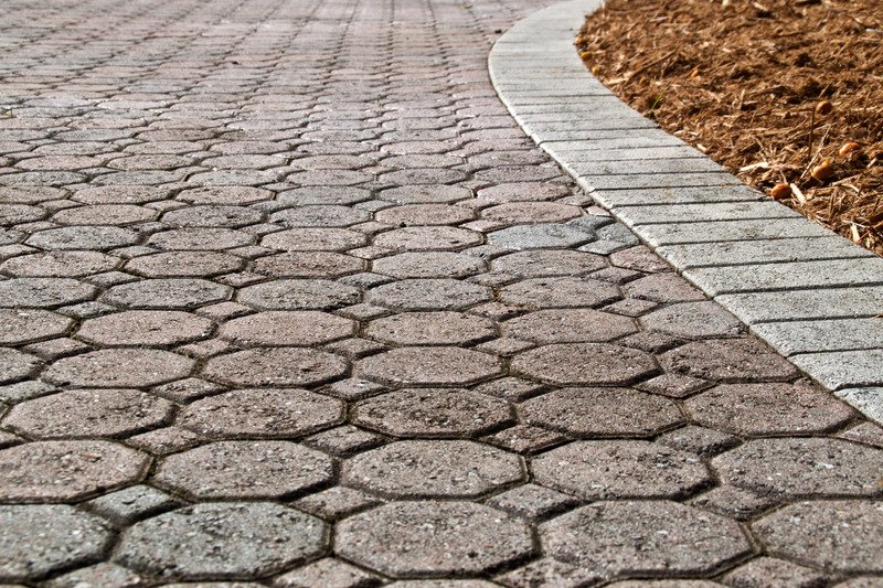 Driveway Edging, Mornington Peninsula Project 1