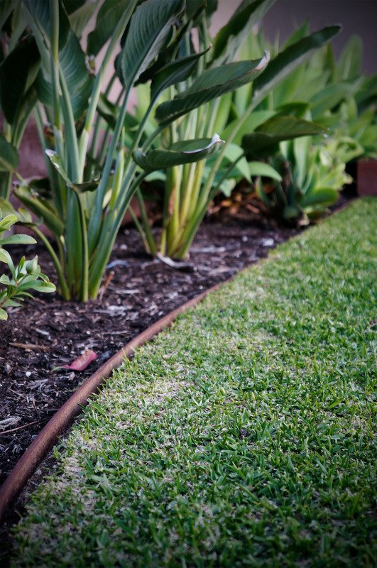 Brick garden edging - Mornington Peninsula 4